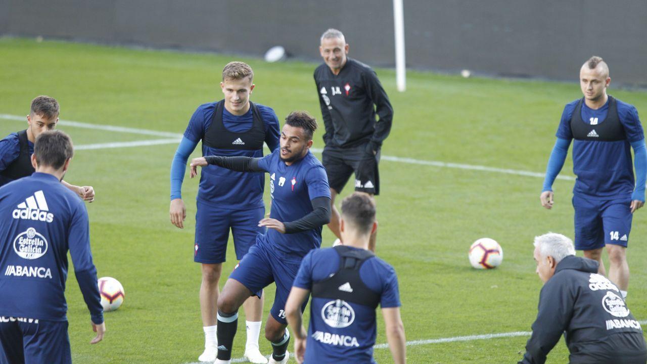 El Celta - Athletic en imágenes