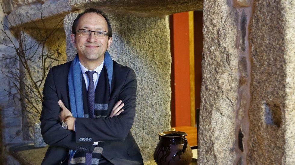 Anxo Lorenzo, Secretario xeral de Cultura se sumó a la celebración