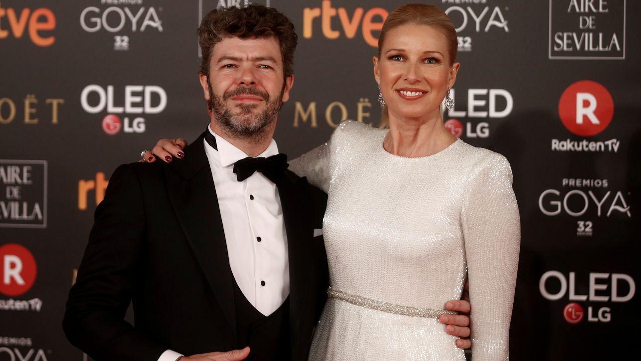 .Anne Igartiburu y su marido Pablo Heras-Casado.