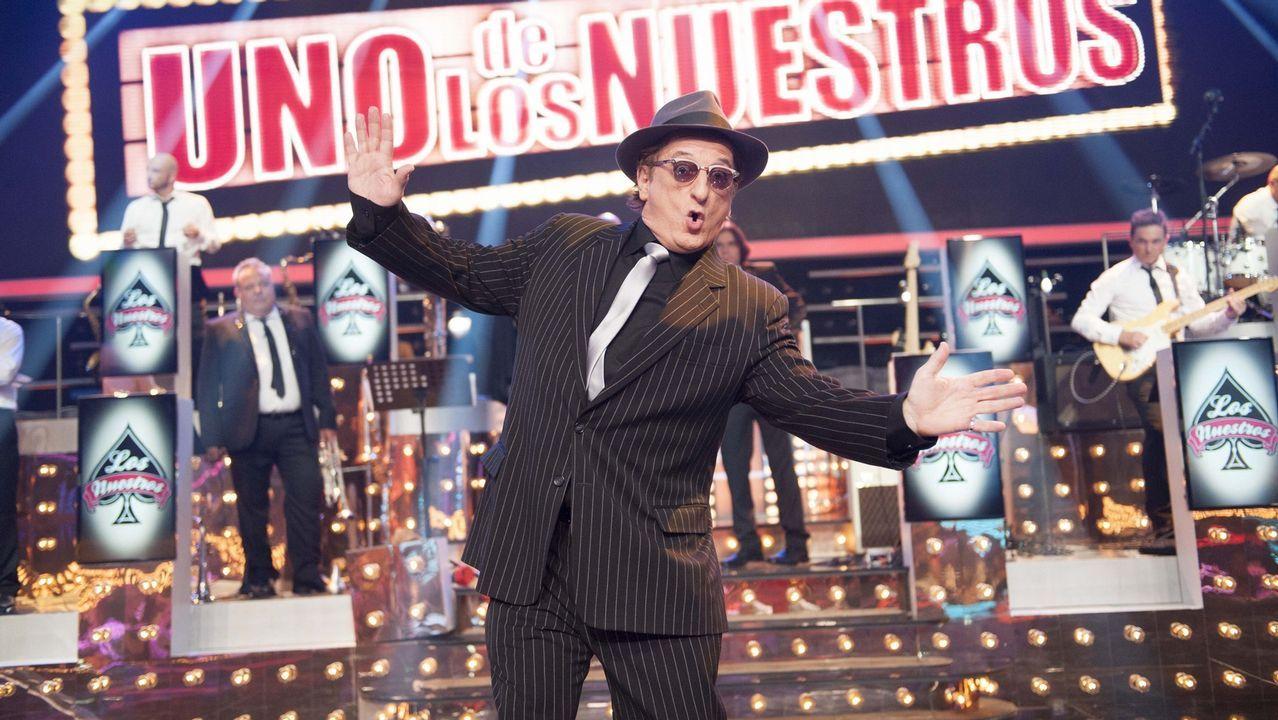 Así son los concursantes de «Bailando con las estrellas».Pelayo Díaz