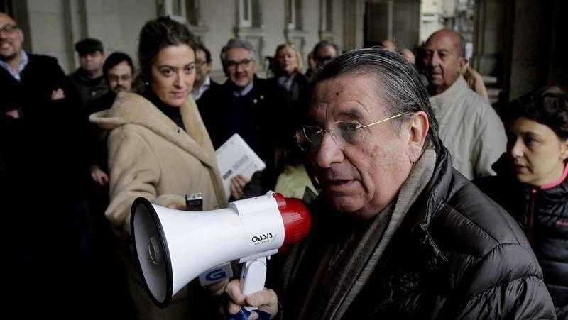Pedro Sánchez participó ayer por primera vez en una reunión de la ejecutiva del PSC.