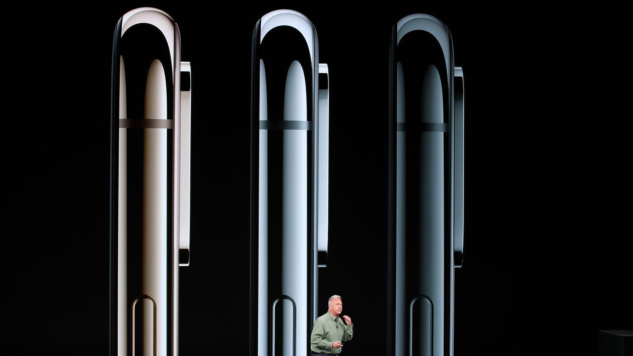 Apple presentasus nuevos dispositivos.