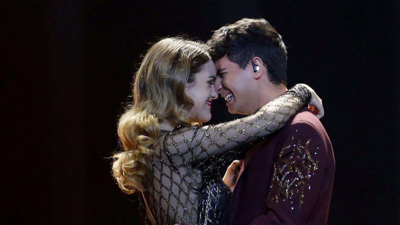 Así fue la actuación de Amaia y Alfred en la final de Eurovisión.