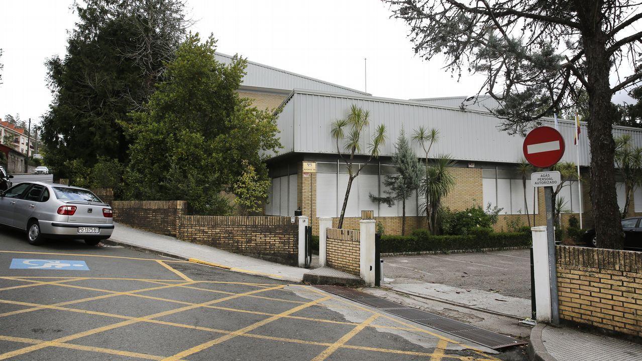 La vivienda asaltada se encuentra enel lugar de Baceiro, en la parroquia de Lantaño, en Portas