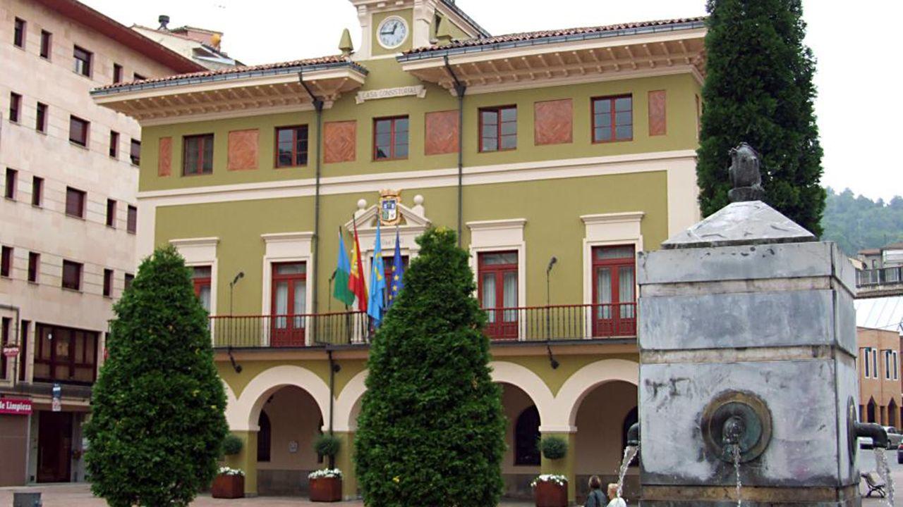 Hospital Valle del Nalón.Ayuntamiento de Langreo