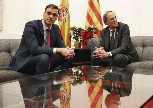 Pedro Sánchez, que estuvoel 21 de diciembre en Barcelona con Torra, visitará de nuevo la ciudad el sabado