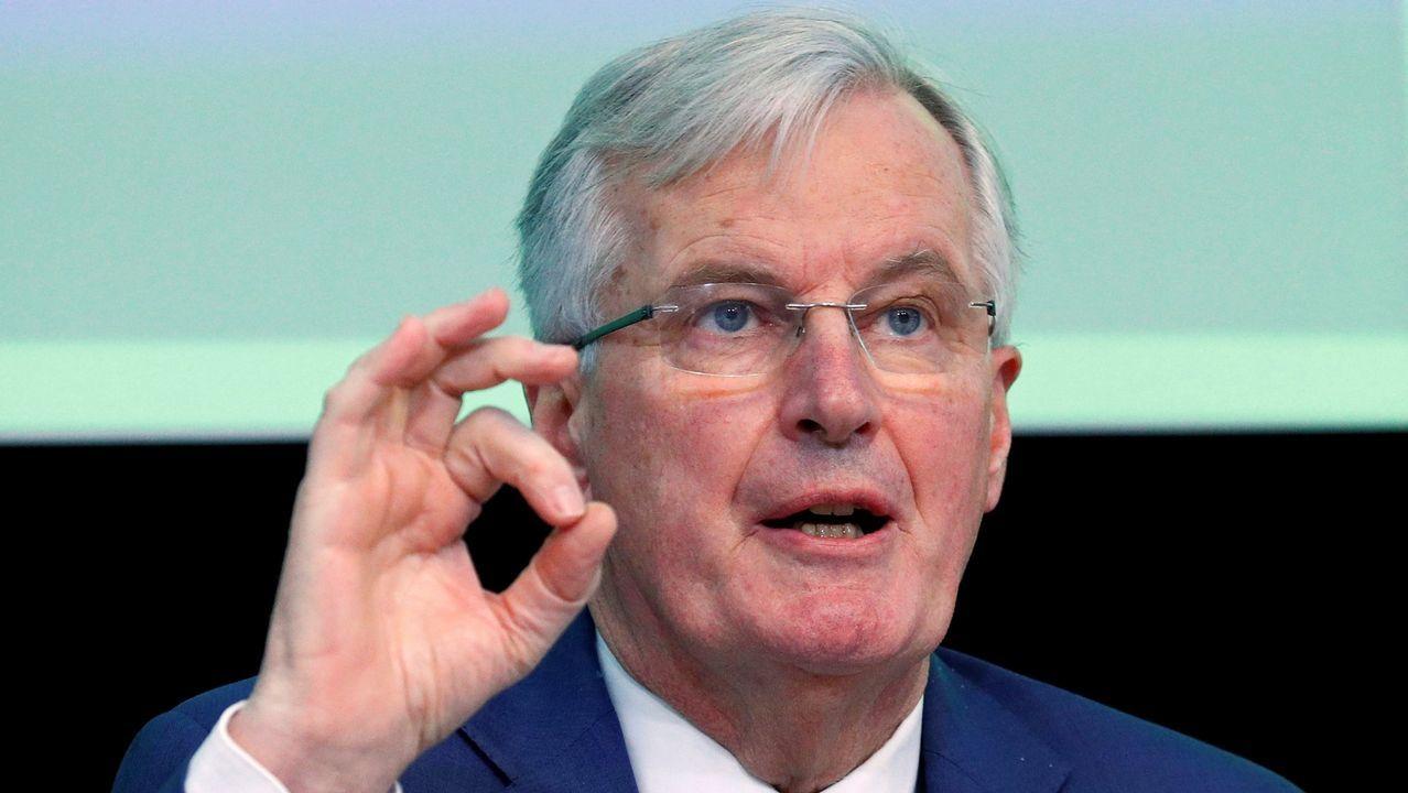 El negociador para el «brexit», Michel Barnier