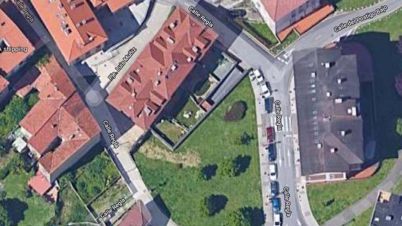 Mapa del Antiguo de Oviedo