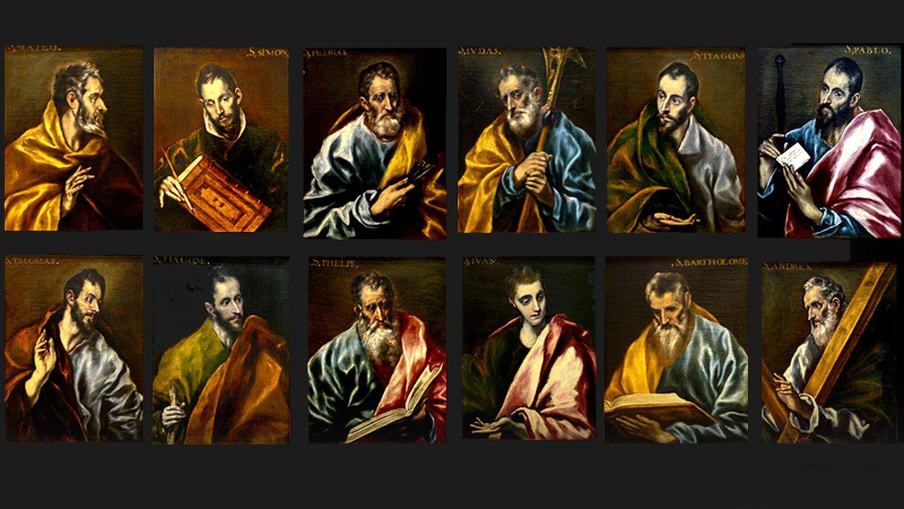 Escotet, recibido por los empleados de Banesco al grito de «valiente, valiente».El 'Apostolado' de El Greco del Museo de Bellas Artes de Asturias