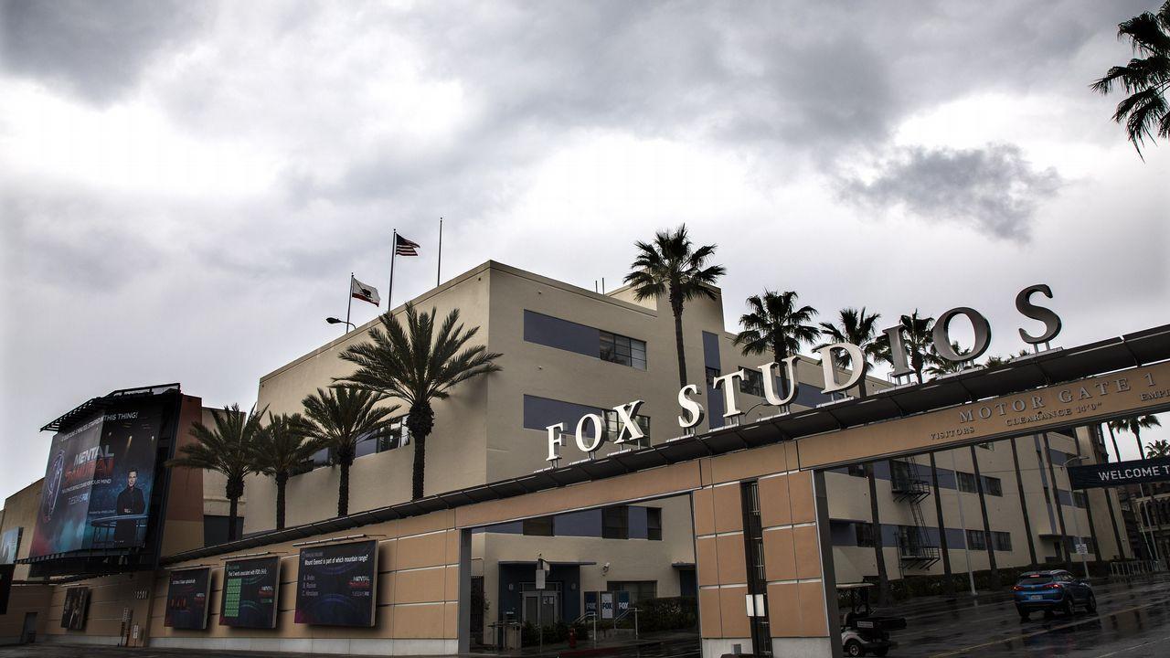Los estudios Fox en Los Ángeles, California
