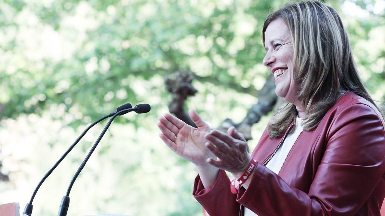 Carmen Arbesú, del PSOE de Langreo