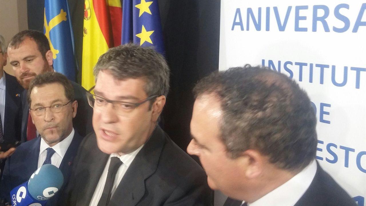 El Ministro de Energía, Álvaro Nadal, en Asturias