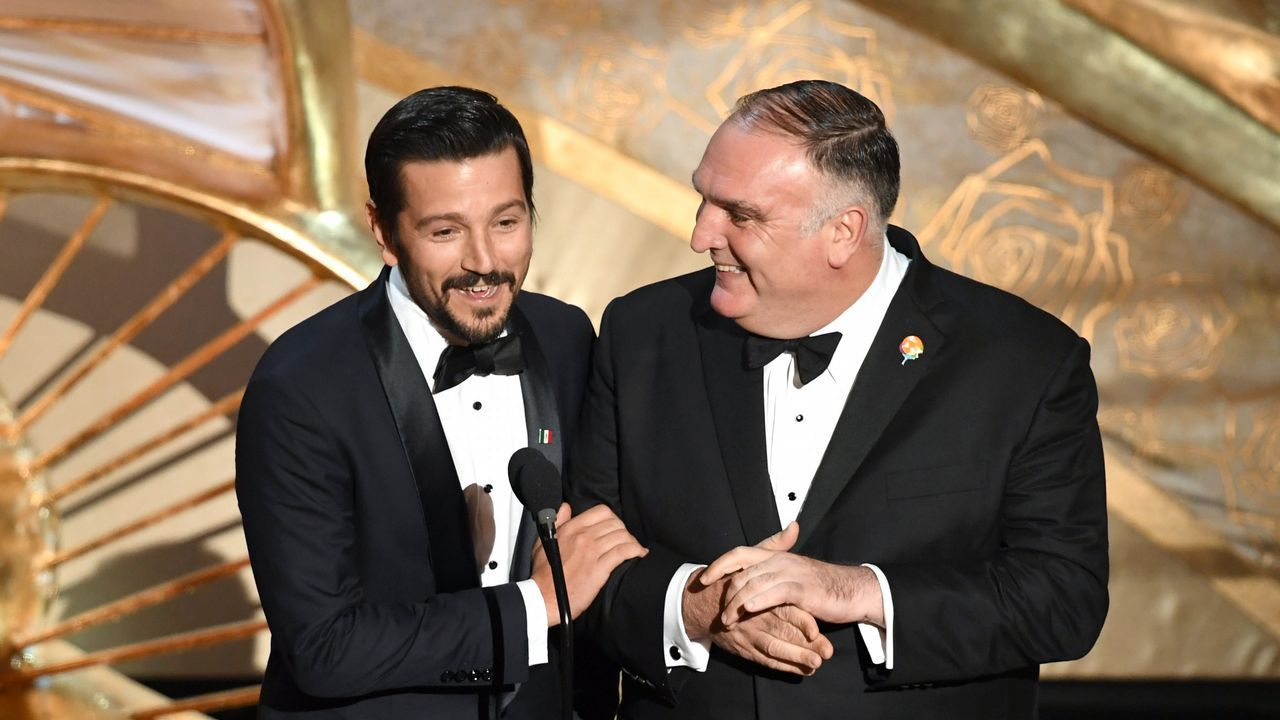 Diego Luna y José Andrés