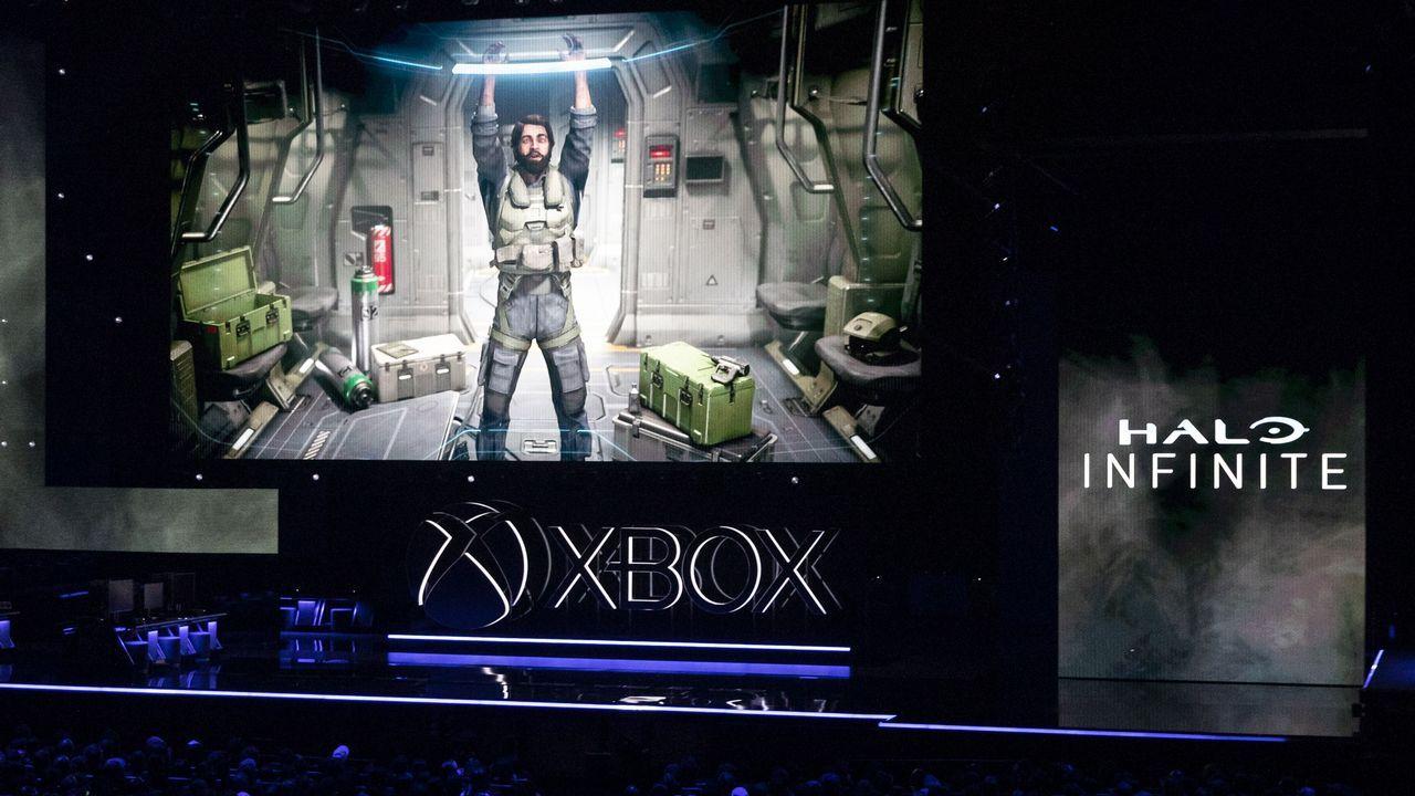 Ordenador.En el E3 se proyectaron imágenes de «Halo Infinite», el primer juego anunciado para la nueva consola de Microsoft