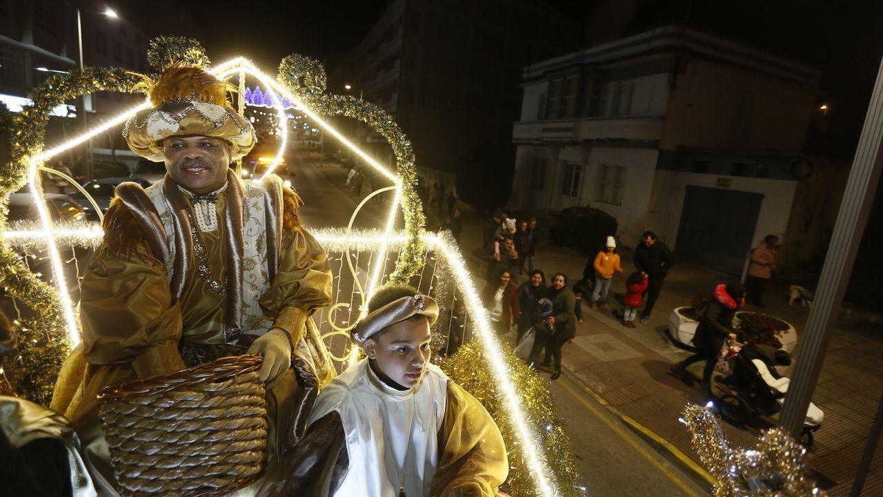 Los Reyes Magos en Burela
