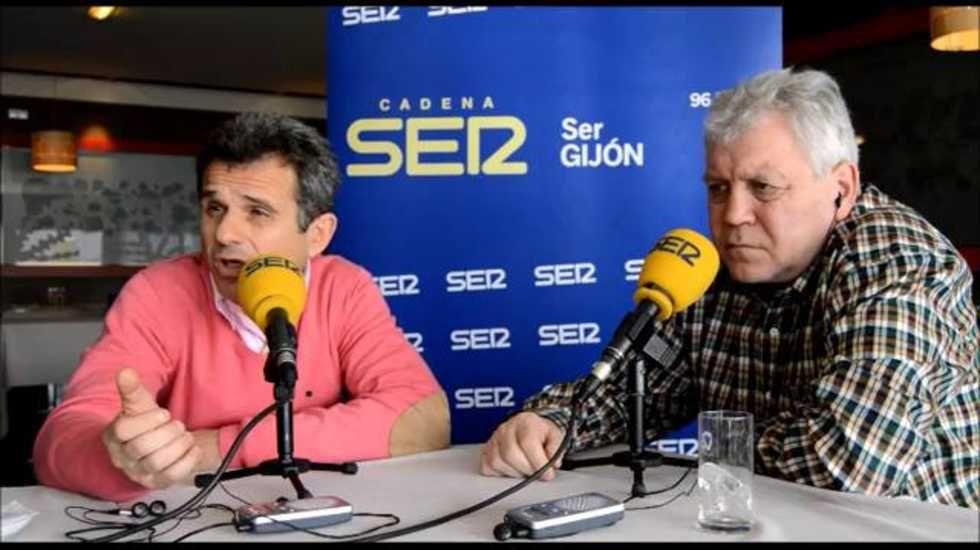 Eloy Olaya y Enzo Ferrero