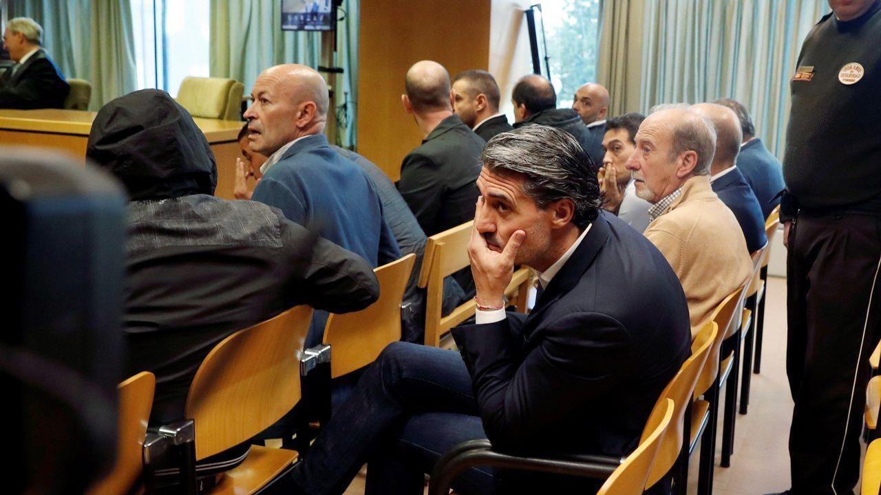 Así está el entorno del auditorio de Vigo.Caminero