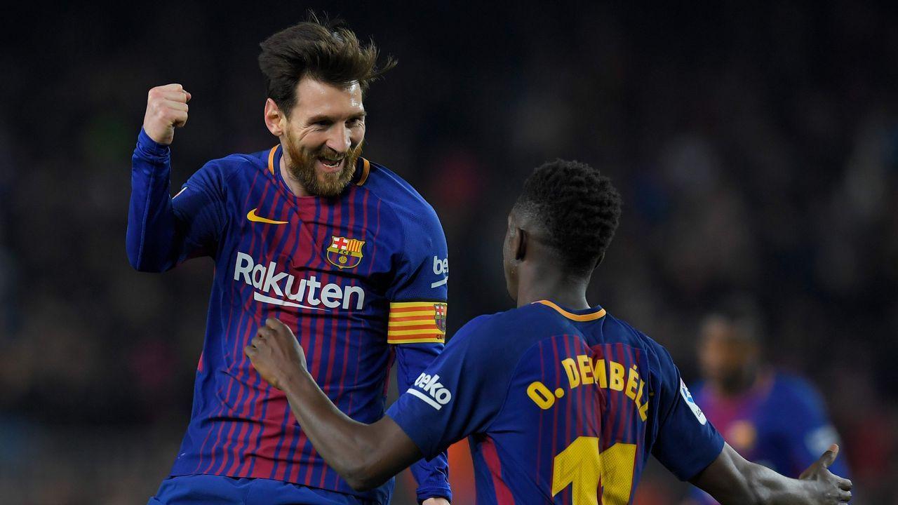 El Barça - Chelsea en imágenes