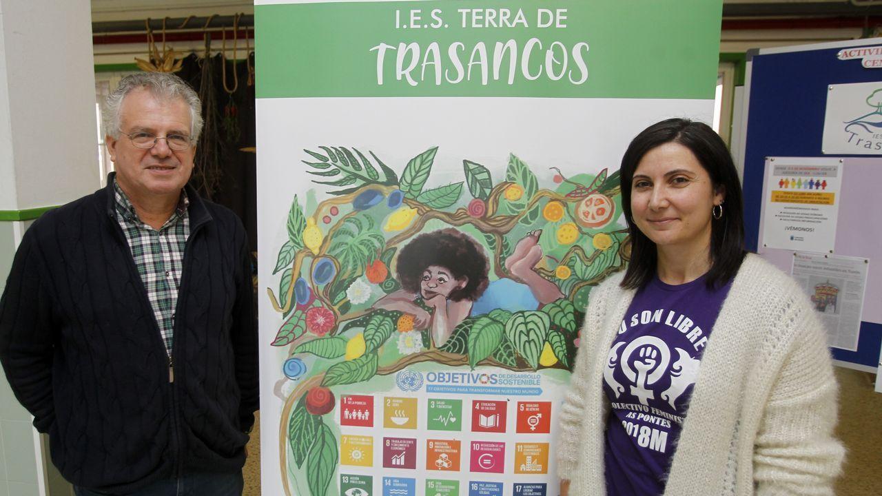 Jéssica Fernández y Manuel Rivera, coordinadores del proyecto