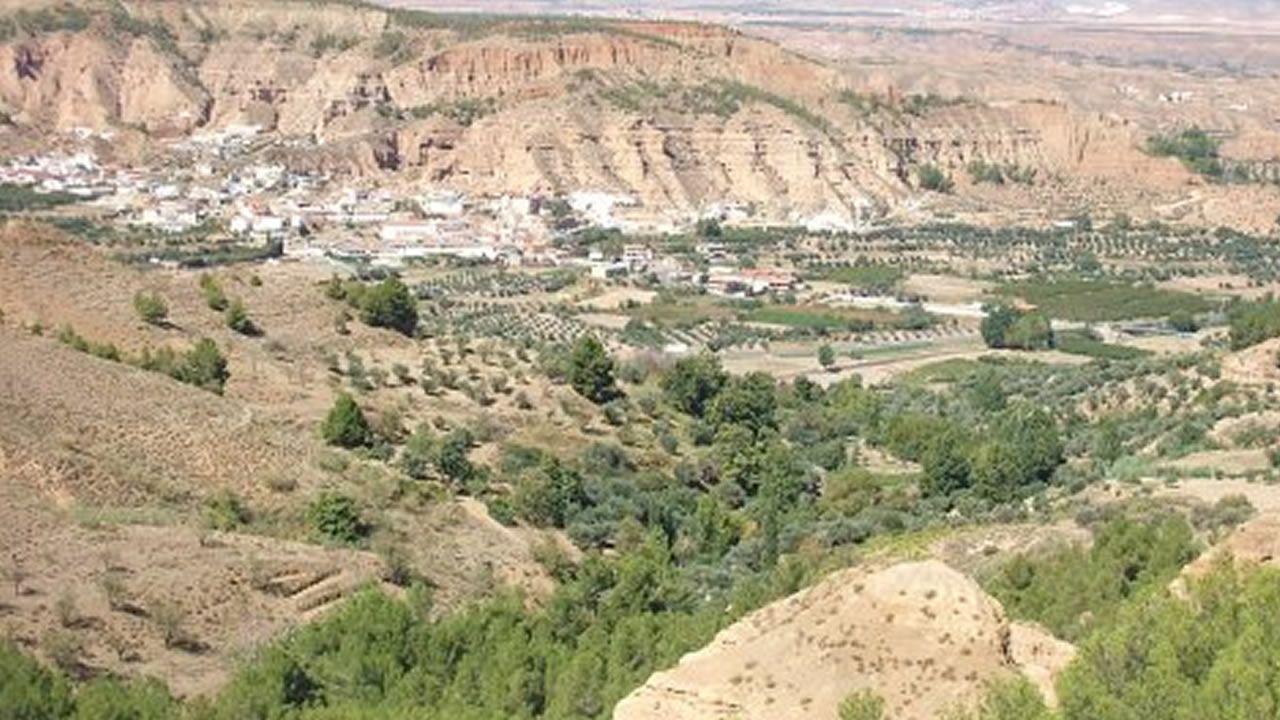 Vista de Marchal, en Granada