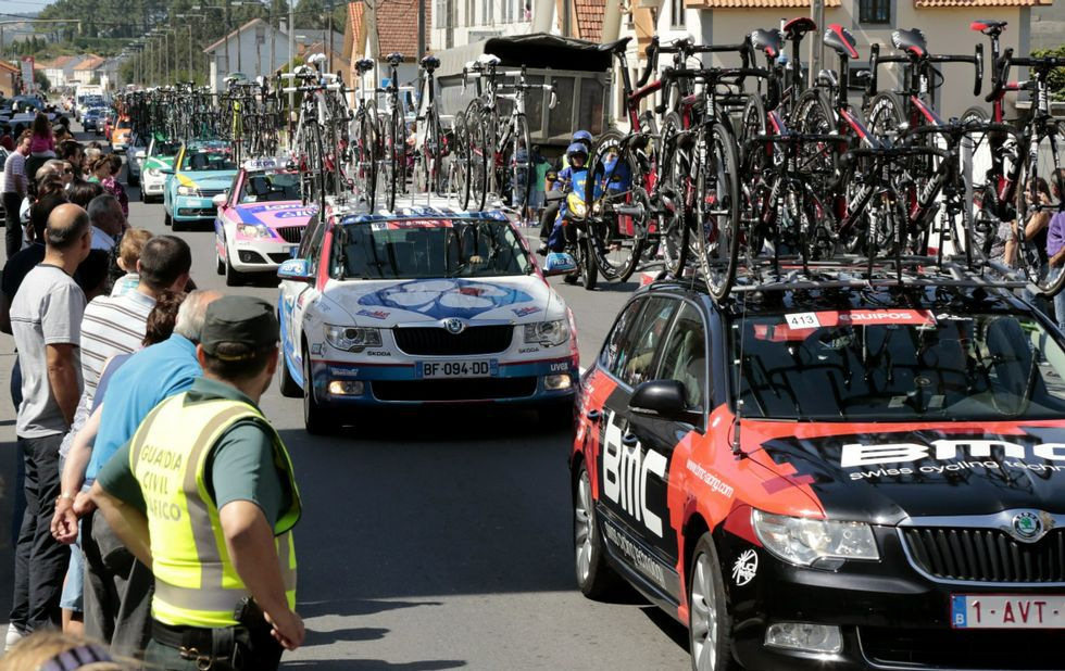 La Vuelta a España arranca en Ourense.