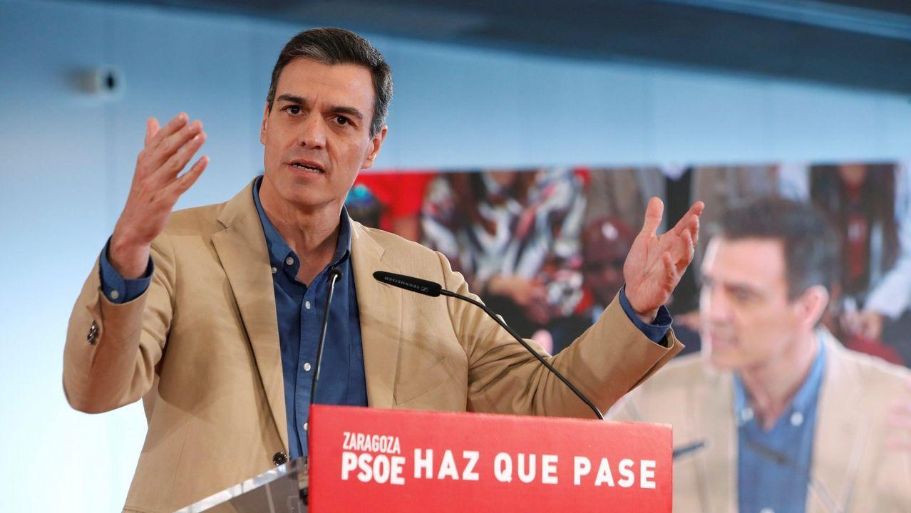Tezanos no descarta que la derecha acabe sumando por el voto oculto de Vox y los indecisos.La campaña del PSC «Nines russes»