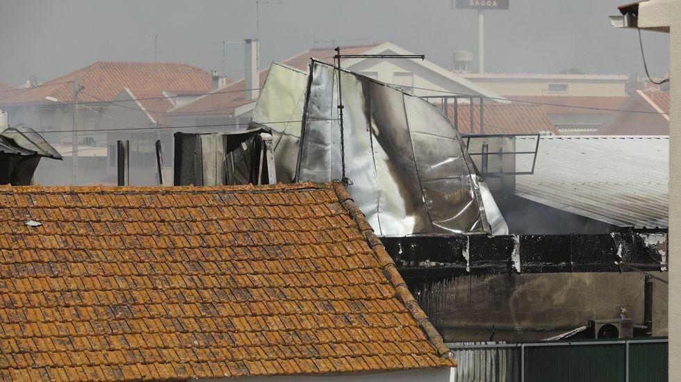 Accidente de avioneta cerca de Lisboa