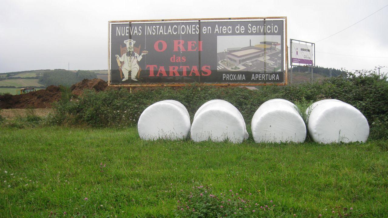 Un sofá en medio de la A-8.Javier Ardines era el concejal de Empleo del Ayuntamiento de Llanes