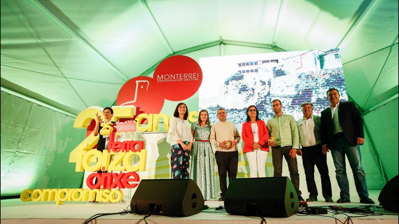 La Denominación de Origen Monterrei celebra sus 25 años.Asunción Rodríguez, de la bodega Crego e Monaguillo