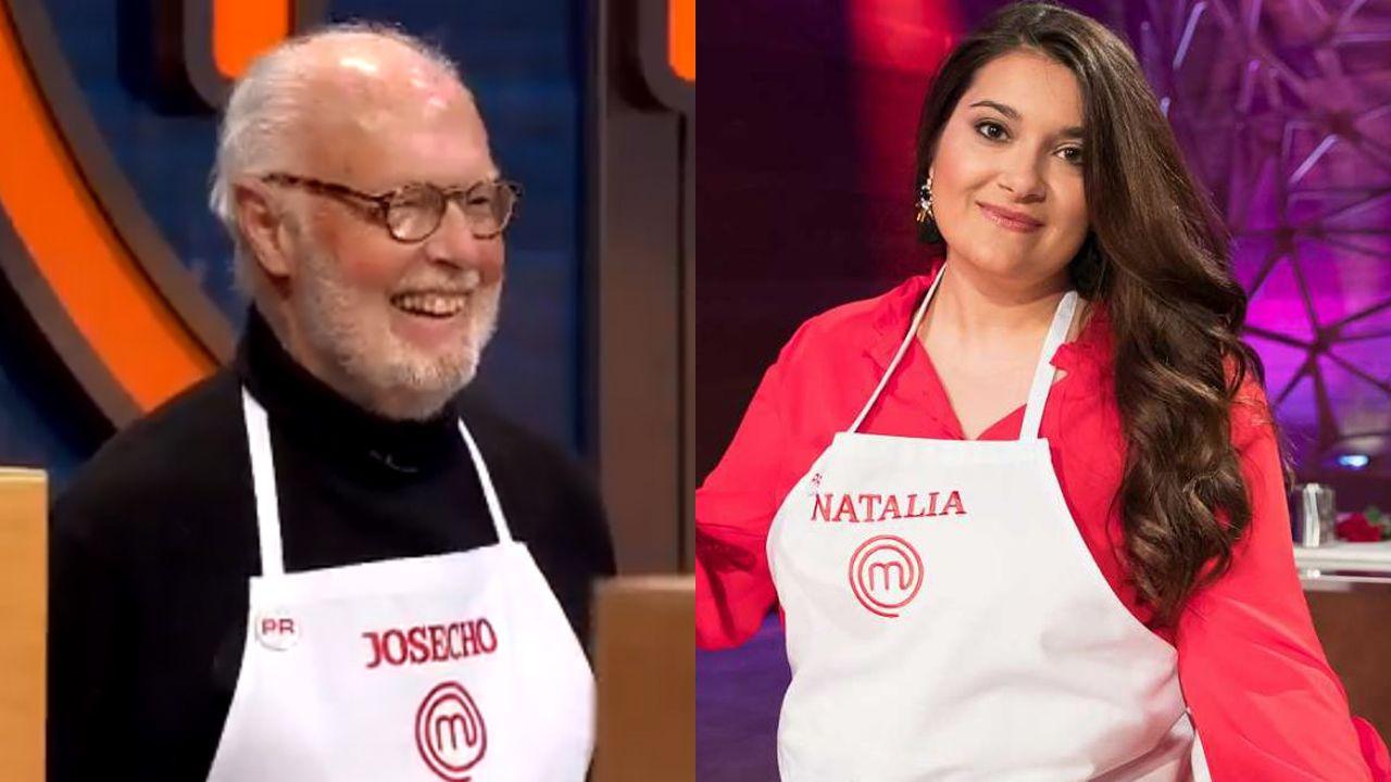 Josecho y Natalia, concursantes de Masterchef 7