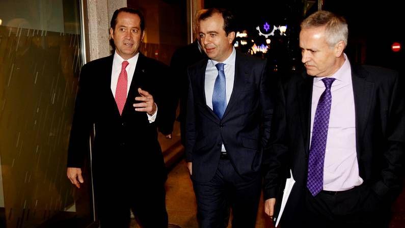 Castellano y González-Bueno han dejado ya la cúpula de Novagalicia Banco.