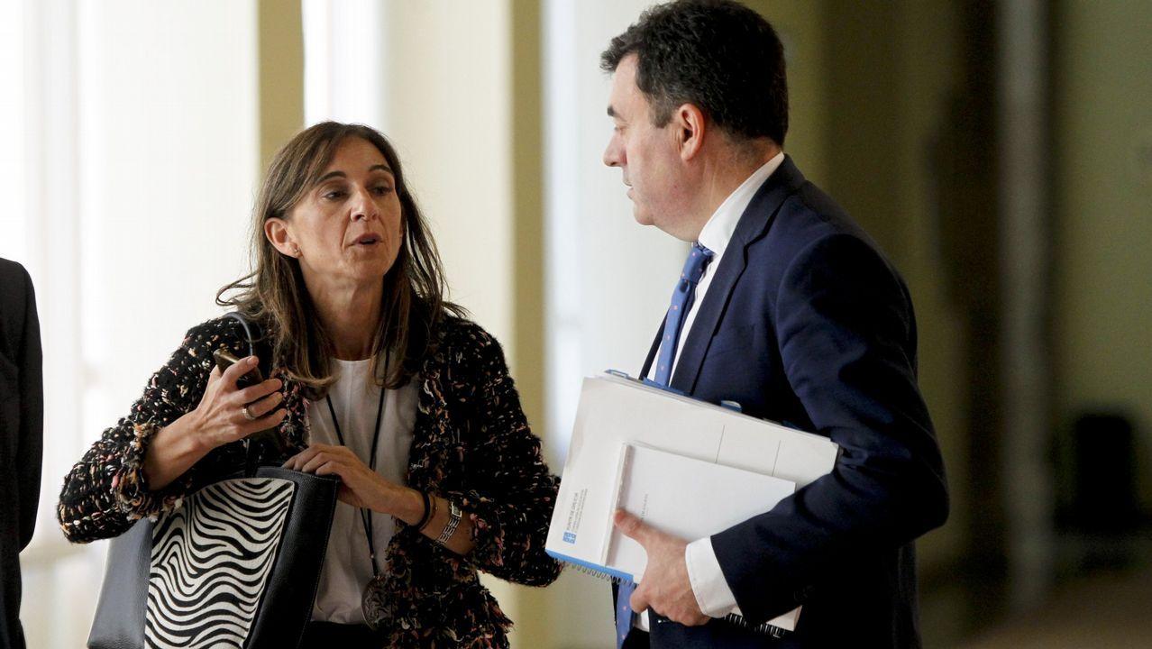 Rueda de prensa tras el Consejo de Ministros de la ministra de Industria, Comercio y Turismo, Reyes Maroto