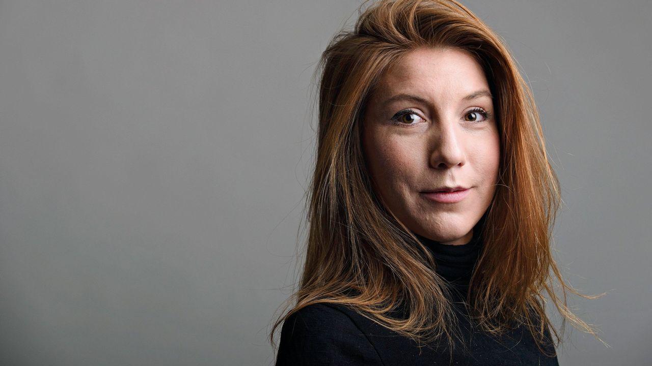 .La periodista sueca Kim Wall