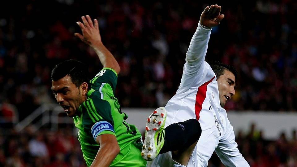 El Sevilla 1 - Celta 0, en fotos