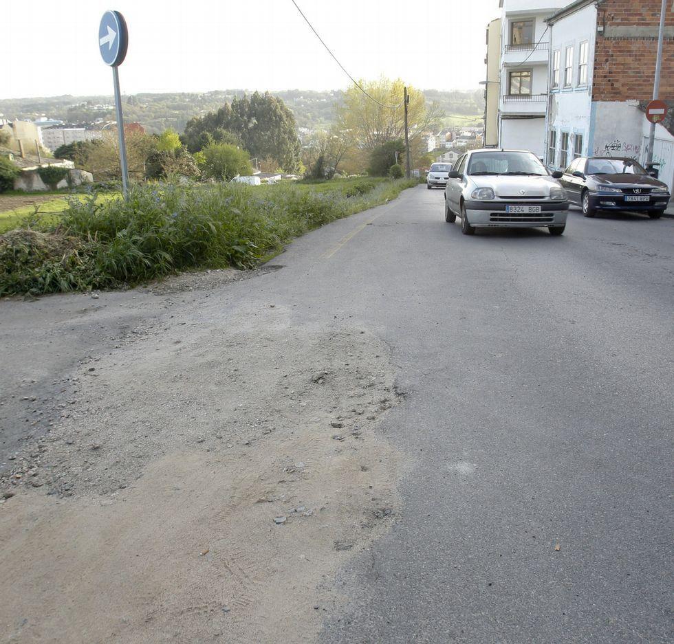 Noriega Varela, una calle en espera de mejoras muy necesarias.
