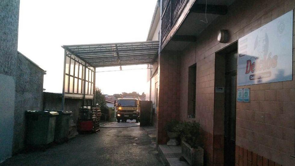 El consejero Genaro Alonso inauguró el curso de los centros de educación de personas adultas (Cepas) en San Martín del Rey Aurelio.La fábrica de embutidos de Noreña afectada por el incendio
