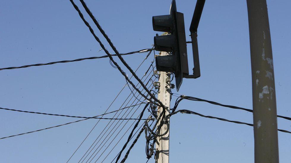 Lío de cables.