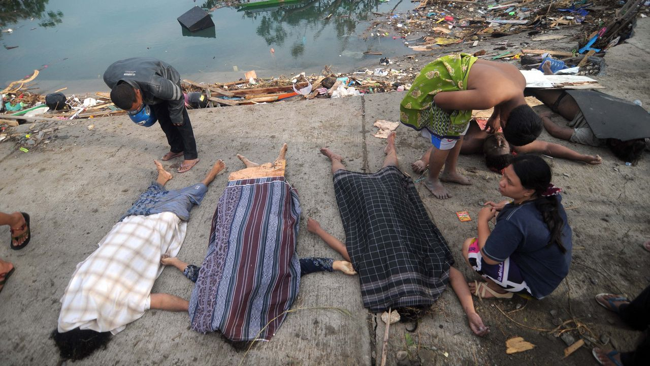 Indonesia se asoma otra vez al espanto.Efectos del último terremoto en Indonesia