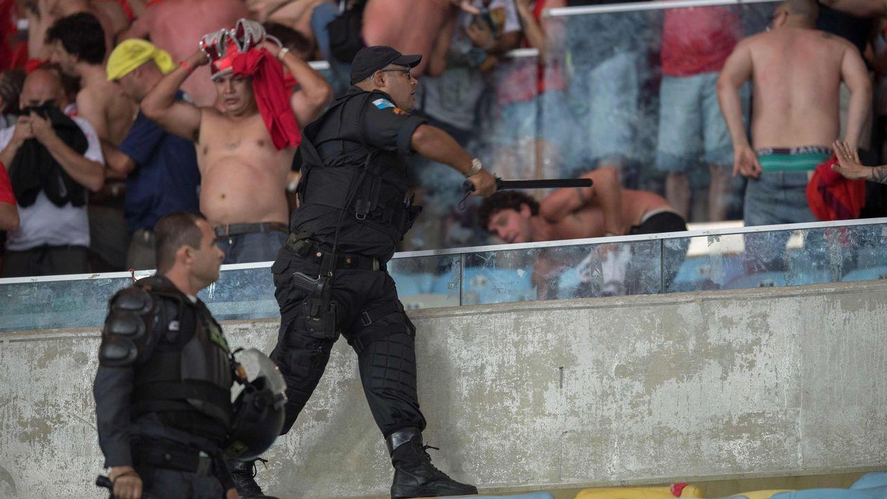 Graves incidentes en la final de la Copa Sudamericana