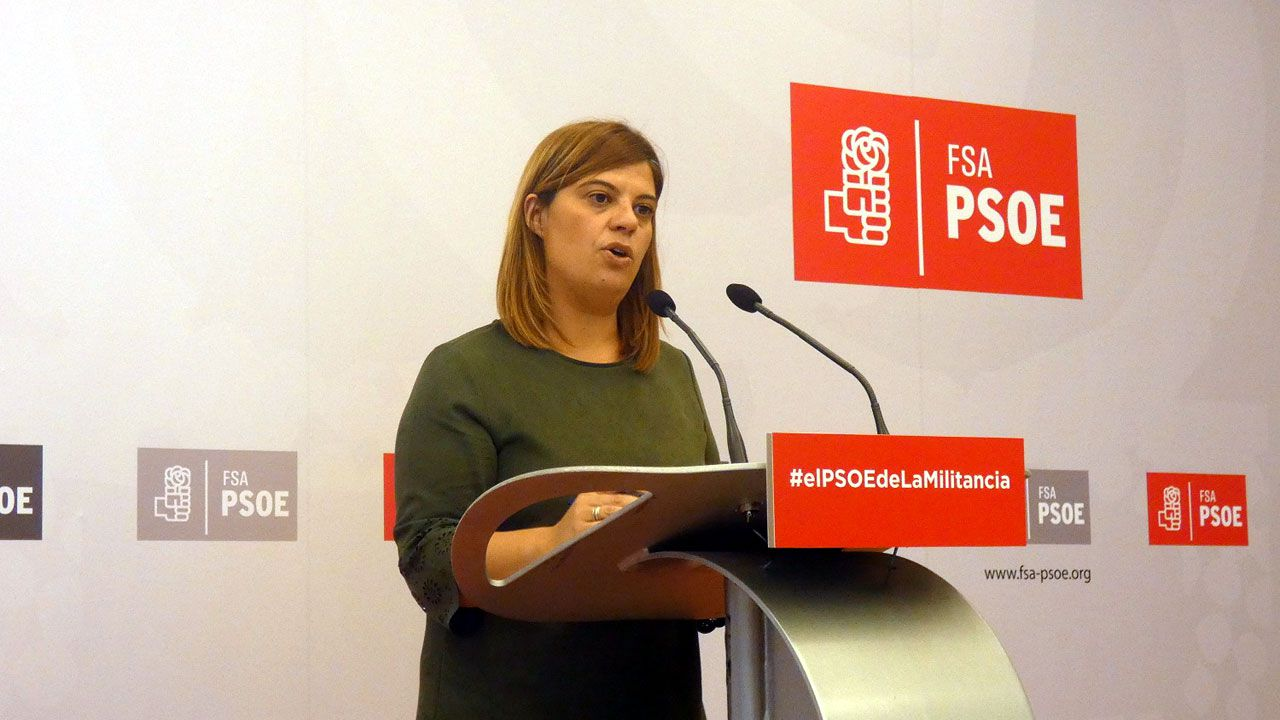 Encierro en el Ayuntamiento de Gijón para reivindicar la firma del convenio del Plan de Vías.Gimena Llamedo