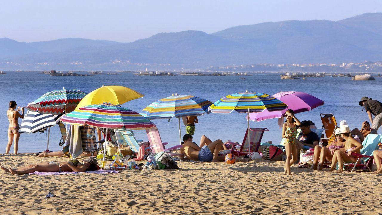 La cercanía a la playa de As Sinas es uno de los grandes reclamos en los anuncios