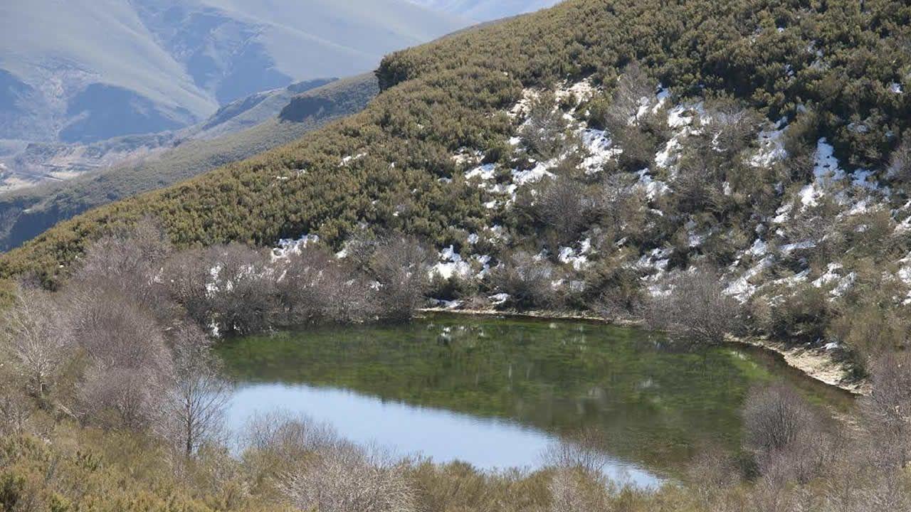 La laguna de Lucenza, en O Courel, es de origen glaciar