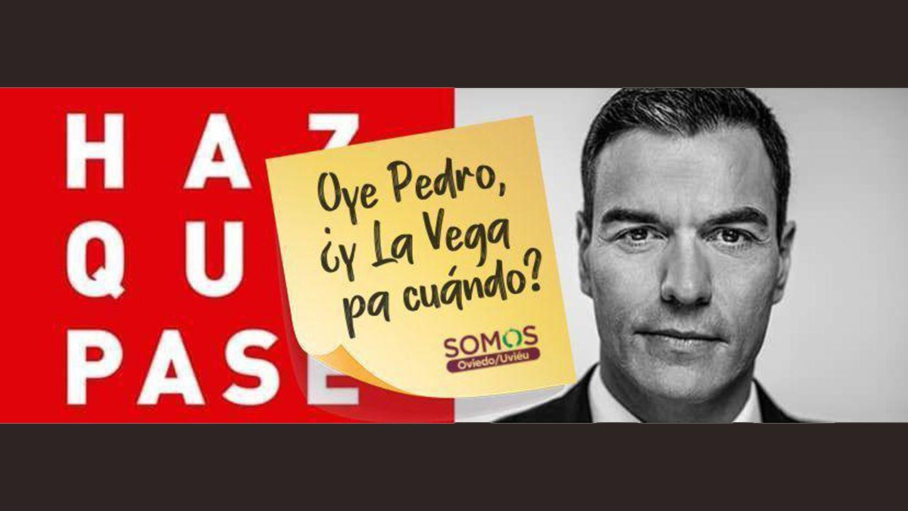 El vídeo de Somos para exigir a Pedro Sánchez que impulse la negociación por La Vega.Marc Anthony recibiendo el galardón