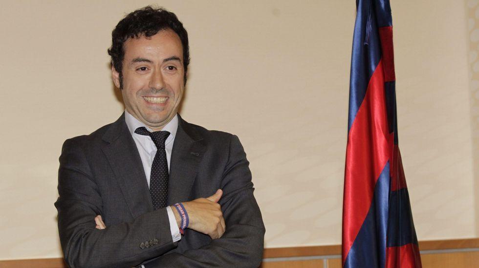 Tebas LFP Real Oviedo.Javier Tebas, presidente de la LFP