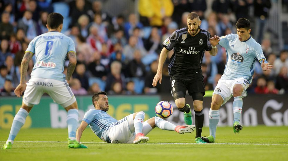 Celta 1 - Real Madrid 4 (17 de enero)