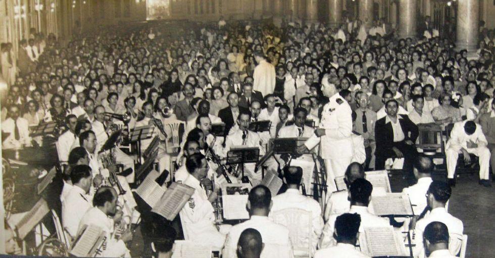 El estreno fue un apoteósico homenaje al músico Pascual Veiga.