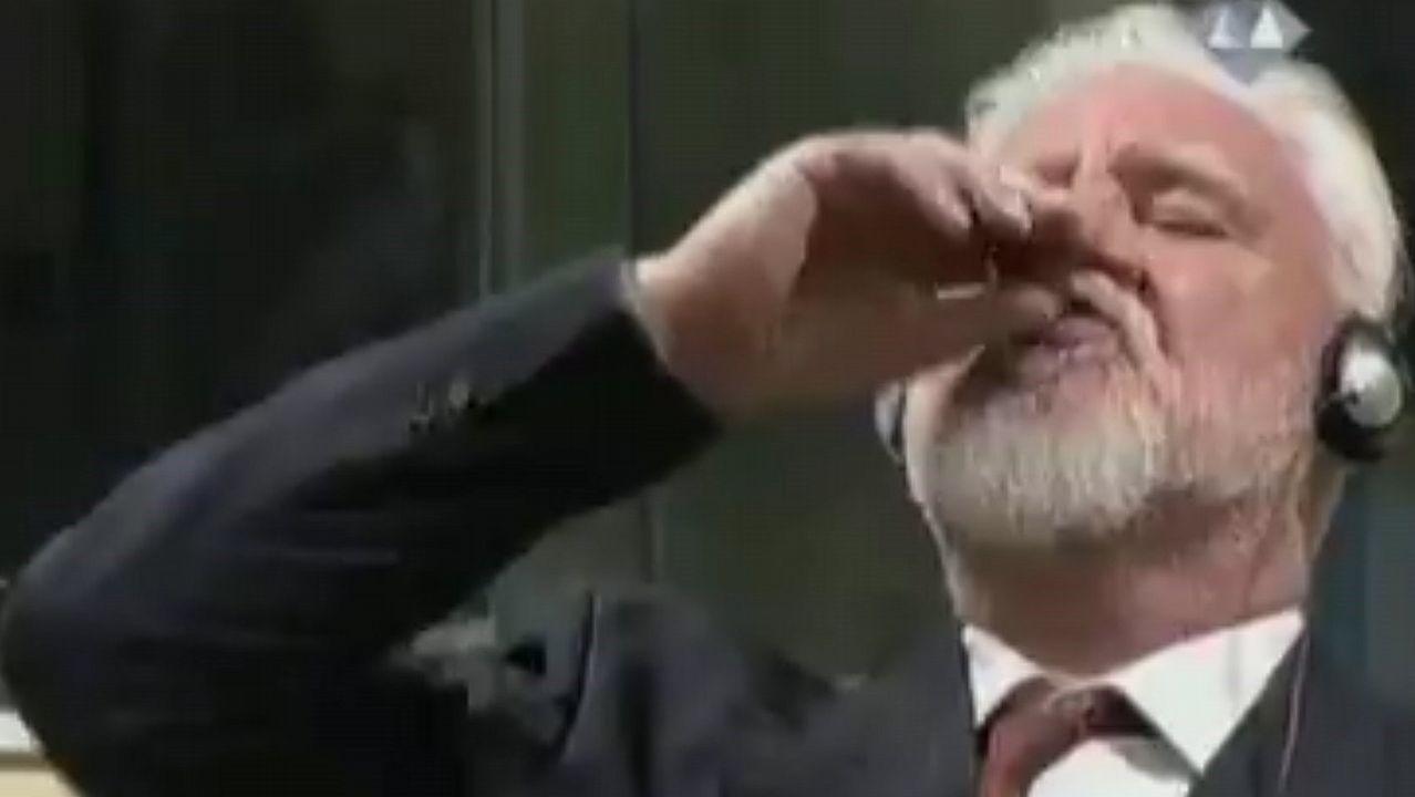 Un acusado de la antigua Yugoslavia fallece tras ingerir veneno ante elTribunal Penal Internacional.Amar Basic Ratkusic