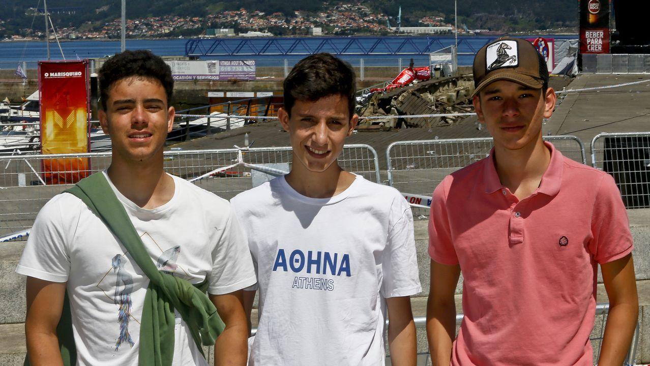 Los jóvenes que asistieron al Marisquiño: «Hubo momentos de pánico»