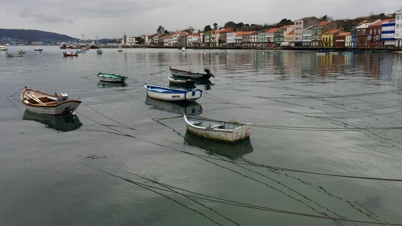 La huella de la borrasca Helena en Ferrolterra, Eume y Ortegal