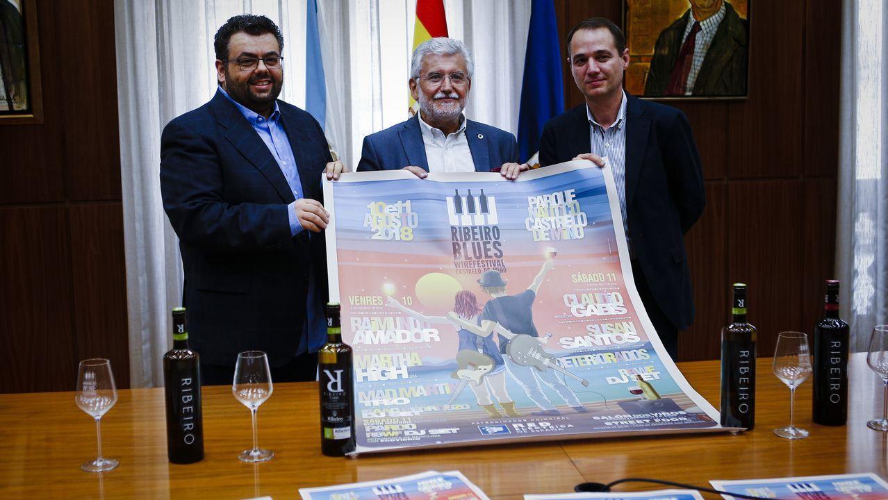 ¿Qué tienen en común Ourense y el Valle de la Muerte?.Un hombre regresa exahusto tras realizar tareas de desbroce en Leiro, Ourense
